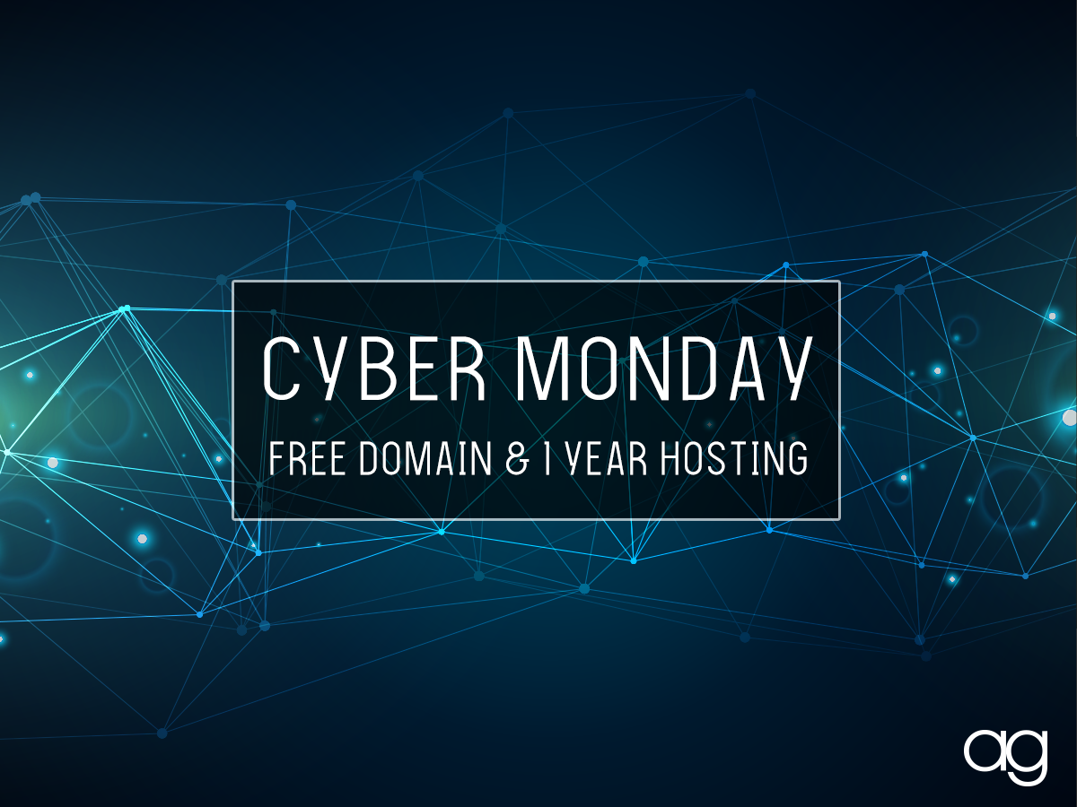 Cyber Monday Website Special